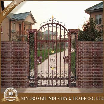Ornamentos de hierro fundido de metal para puertas dise o hierro moderno puertas de jard n de - Puertas de hierro para jardin ...