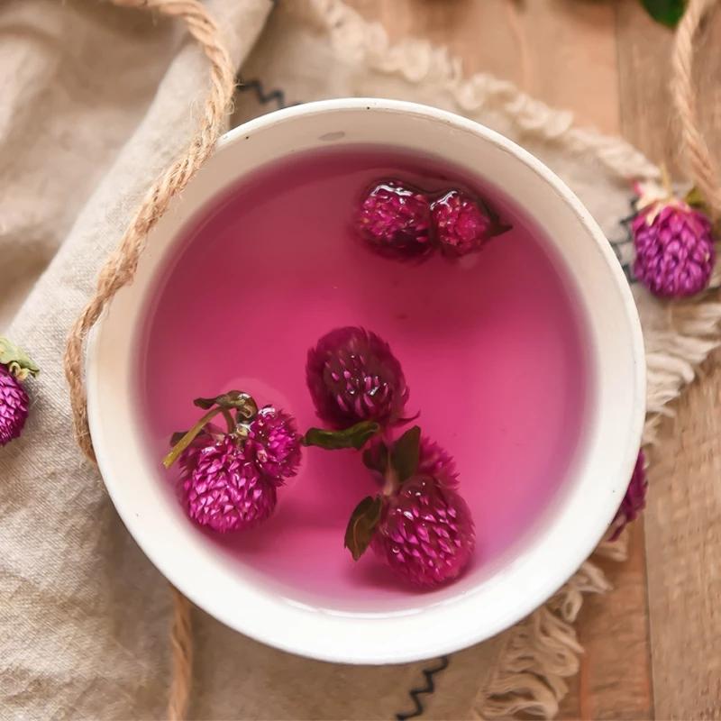 Chinese Dried Globe Amaranth Flower Tea Herbal Tea For Skin Care And Keep Young - 4uTea | 4uTea.com