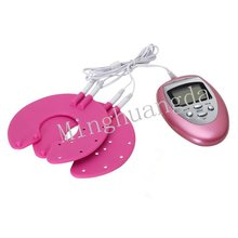 electronic vibrating sexy breast enhancer massager