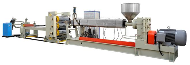 PE/PP single layer sheet production line/extrusion machine/making machine