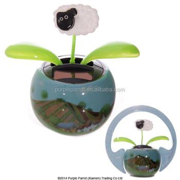 Sheep Solar Buddy/solar Powered Toys/ Car Interior Decoration Toy ...