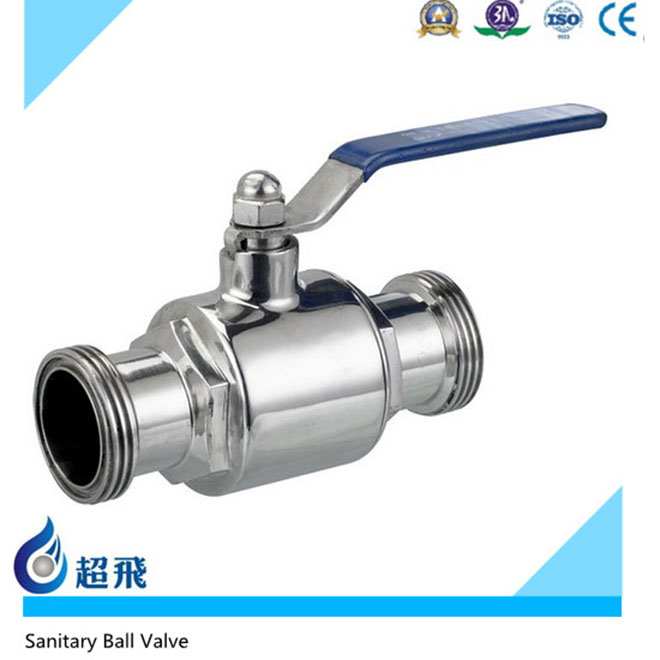 Food Grade Stainless Steel Ball Valve Price Low Ball Valves Dn 20 Dn40 Dn 50 Manufacturer Water\Oil\Gas