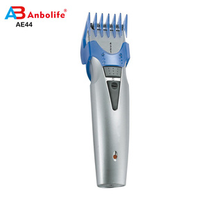 AB Professional DC AC Motor Cordless Custom-Cut Battery Operated Electric Male Hair Clipper / Trimmer with Grooming Kit