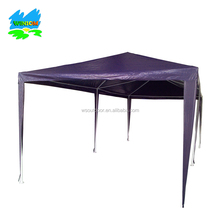 Waterproof 10' x 20' PE Gazebo Marquee Awning Party Tent Canopy blue 120 g Polyester Power Coated Steel Frame