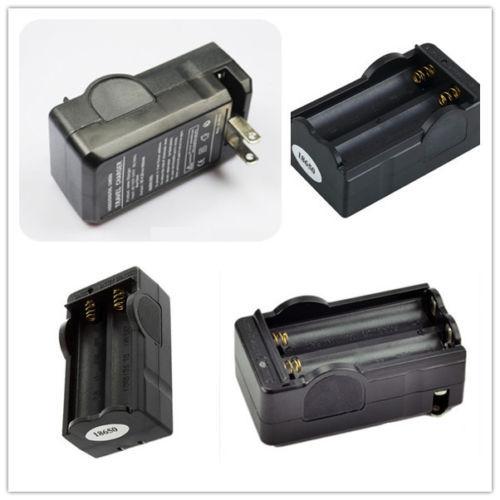 Двойной смарт зарядное устройство для 18650 Li - Ion 3.6 3.7 В мощный черный