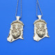 Custom 3D Buddha pendants with ball chain necklace
