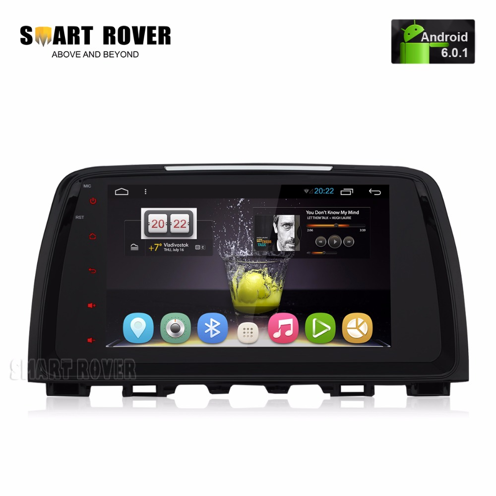 """9"""" HD 1024X600 Android 6.0.1 Car Stereo For Mazda 6 Atenza"""