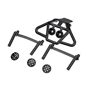 New HBX 1/12 12607 Body Posts Bumper Front Anti-collision For Monster Truck RC Car Parts By KTOY