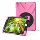 new arrival shock proof heavy duty 360 rotate kids back cover case for ipad 9.7 2018