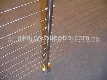 Stainless Steel Newel Post Treated Round Fence Wrought Iron Staircase Railing View Stair Allo Product Details From