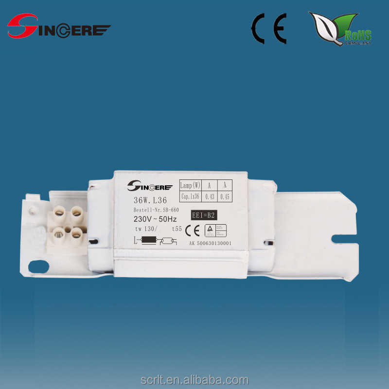 magnetic ballast for T8 fluorescent lamp