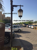 11.8M steel polygonal lamp post