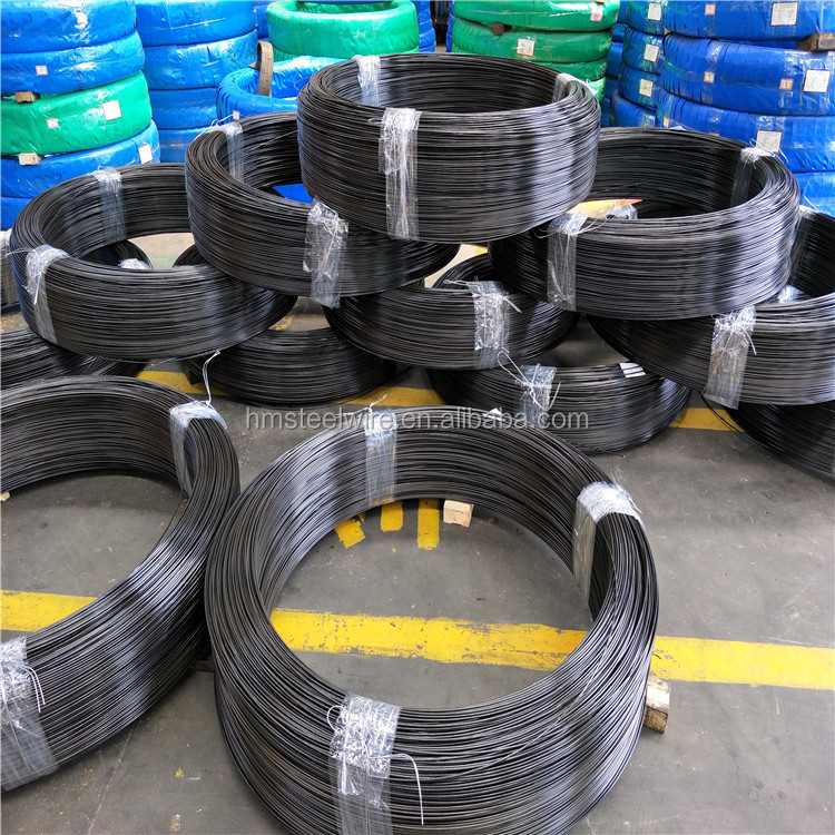 Oil tempered spring steel wire material for compression spring