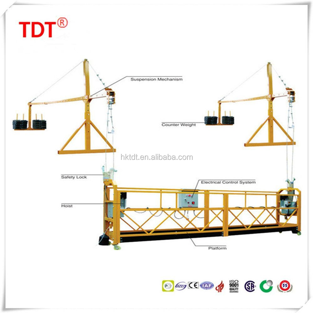 new product on china market suspended platform/electric cradle/gondola/swing stage