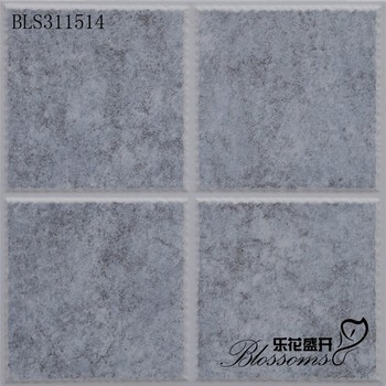 Ceramic Matte Lattice Pattern Flooring Blue Mosaic Bathroom Wall Tile 300x300mm Digital Tiles