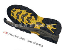 good market soft material folding trekking shoes cork out sole