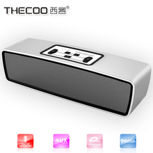 Wireless speaker for projector 10W home theater Aluminium bluetooth speaker with handas free enhanced bass