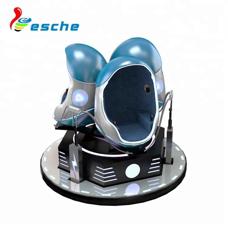 Vr 360 Degrees 9d Vr Egg Chair 3 Seats 9d Cinema Simulator - Buy Vr 360  Degrees Flight Simulator,9d Cinema,9d Cinema Simulator Product on  Alibaba com