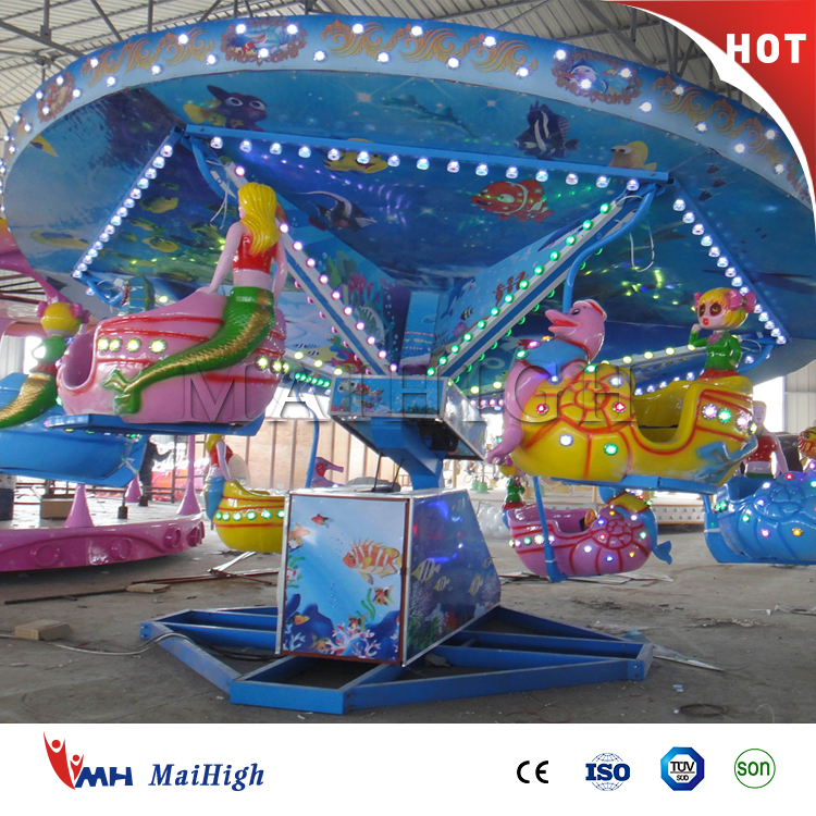 Indoor outdoor amusement park swing rides ocean walk for sale