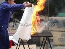 welding fiberglass fire blanket roll