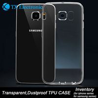 Wholesale clear case,printing soft tpu gel material back case cover for samsung