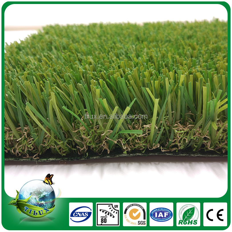 40mm Plastic Leisure Cheap Artificial Lawn Landscaping For Garden Ornaments