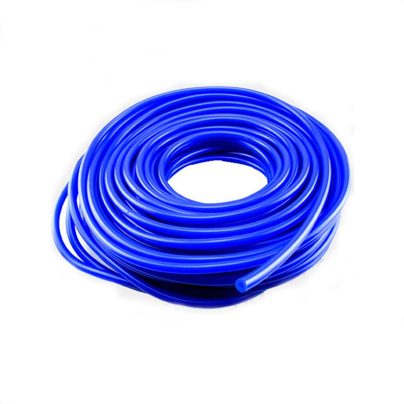 4mm ID Blue 4 Metre Length Silicone Vacuum Hose AutoSiliconeHoses