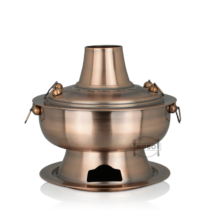 Kitchenware brass copper chafing dishes cooking brass utensils india