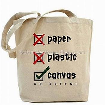 Reusable Cotton Ping Bag Canvas