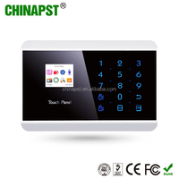99 Zones Wireless Home GSM Security Alarm with Touch Key with 3 Years Warranty PST-PG992TQ