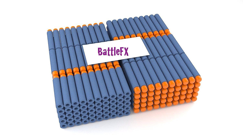 BattleFX Nerf N-Strike Elite Compatible Darts / Bullets, Set of 100