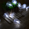LED Christmas decorative pineal light/factory wholesale cheap battery operated string lights