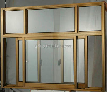 Office Sliding Glass Window Design/ Aluminium Double Glazed Windows And  Doors Comply With Australian Standards