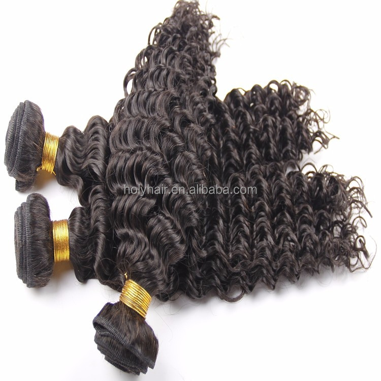 10A grade jerry curl raw remy virgin indian hair weave human hair extension