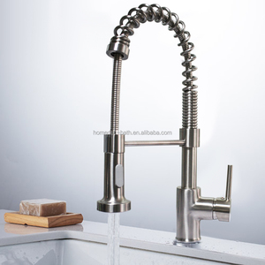 American cupc certification faucet two ways water outlet pull down kitchen faucet