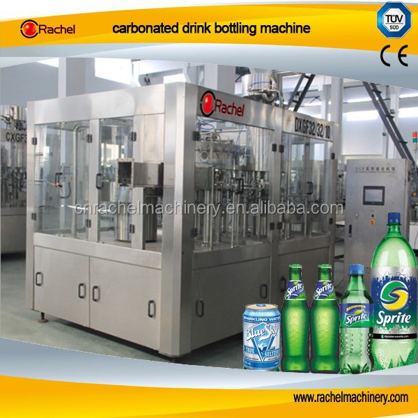 Carbonated drink automatic bottling machine