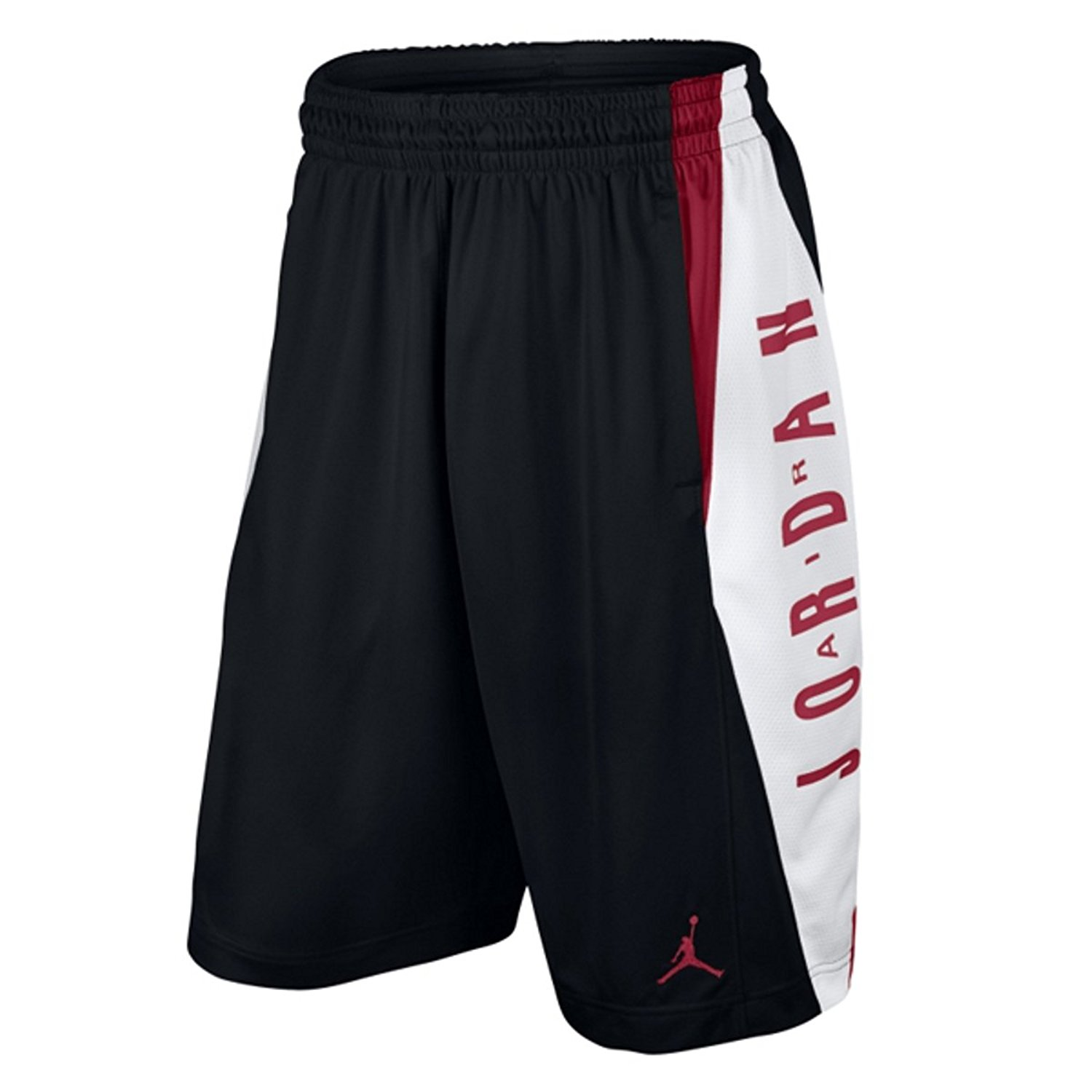 22cc338c3cf Get Quotations · Nike Jordan Takeover Shorts Mens Black/Gym Red/White  724831-011