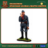 Custom made wholesales decorative pewter war soldier