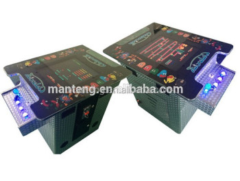 2 player,60 in 1, 19'' LCD Video Arcade Cocktail Table Jamma Game Machine