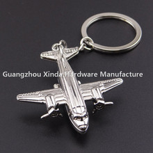 Wholesale Metal Key chain helicopter keychain aircraft key ring fob holder apache air planes flight simulated copter