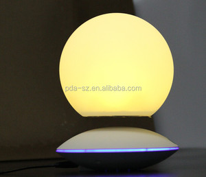 new best gift magnetic levitating led ball display stands with rotating