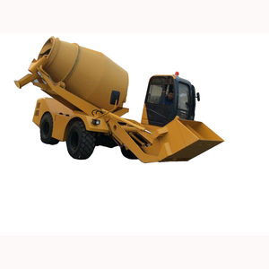 Mobile concrete mixer with self loading function in India