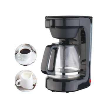 12 Cup Switch Coffee maker with Pull-out Brew Basket and High boron glass carafe,With non-stick coating plate ETL and cETL
