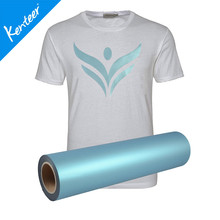 Kenteer pearl effect heat transfer vinyl for t-shirt