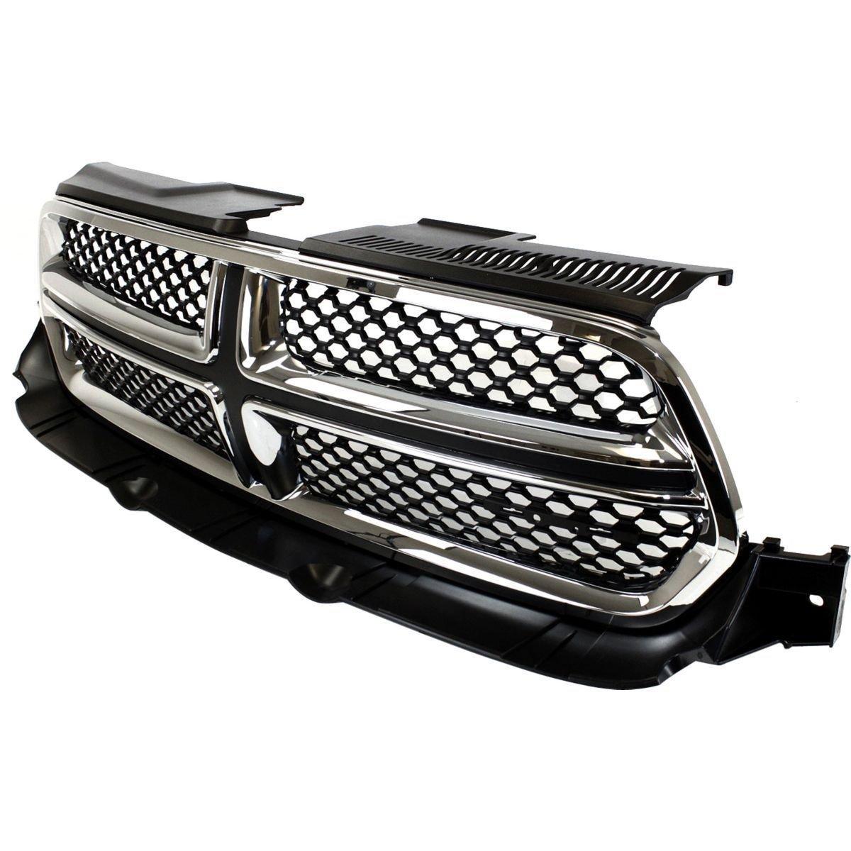 Diften 102-A4166-X01 - New Grille Grill Dodge Durango 2011-2013 CH1200357 55079364AJ