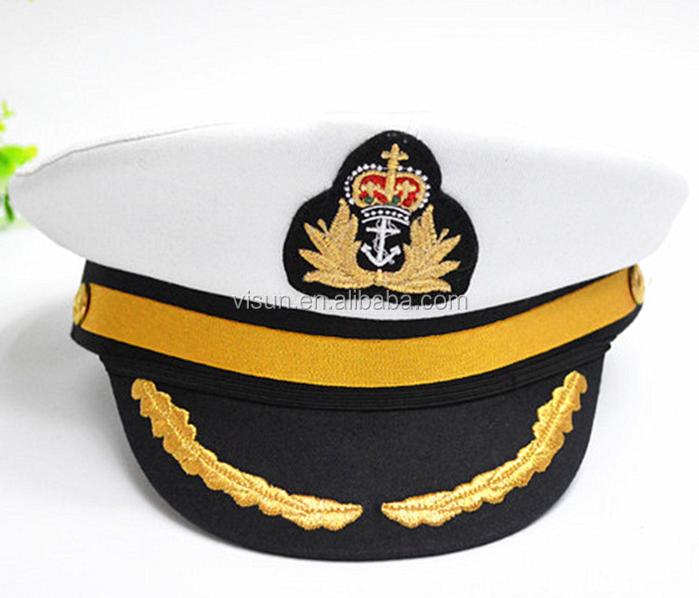 Sailor Ship Yacht Boat Captain Hat Navy Marines Admiral Cap Hat - Buy Navy  Marines Cap,Admiral Cap,Yachit Boat Captain Hat Product on Alibaba com