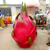 Life size purple fiberglass cartoon fruit durian sculpture for shopping mall park decor
