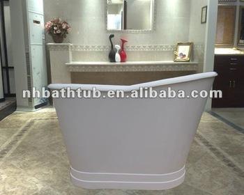 Small Cast Iron Baths Slipper Baths Tubs With Metal Skirt Buy