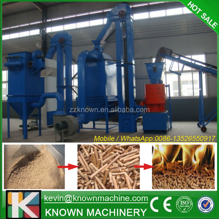 The CE approved 1500 kg/h film pellets production line