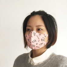 3ply non woven face mask cartoon printing medical Disposable face mask surgical face mask with ear-loops